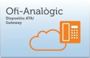 Dispositiu ATA o Gateway